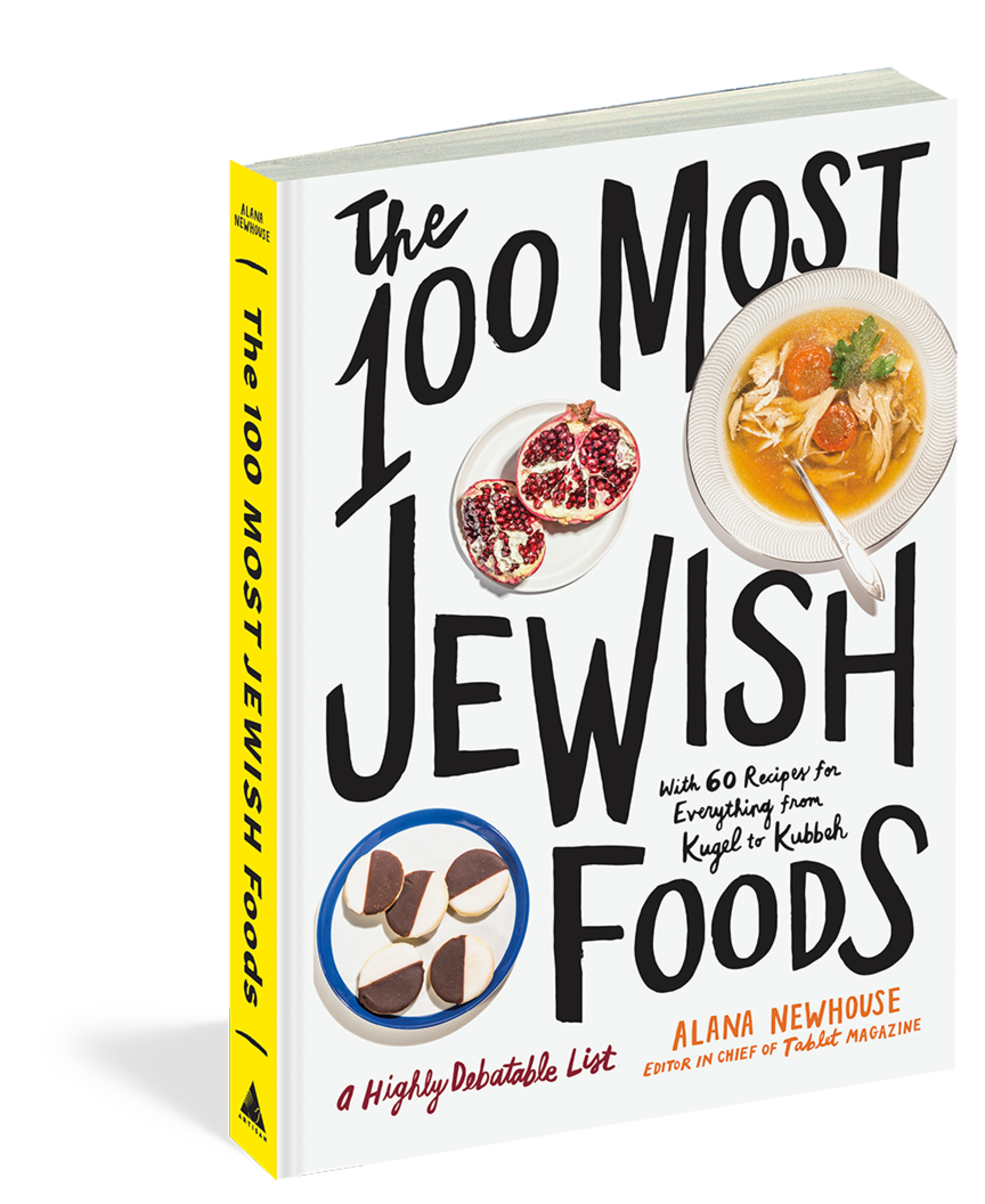 Buy The 100 Most Jewish Foods Book Image