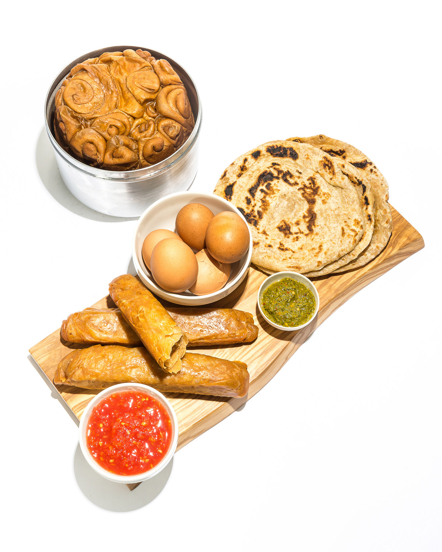 Yemenite Breads (Jachnun, Malawach, and Kubaneh)